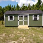 storage shed with ramp in baxley ga