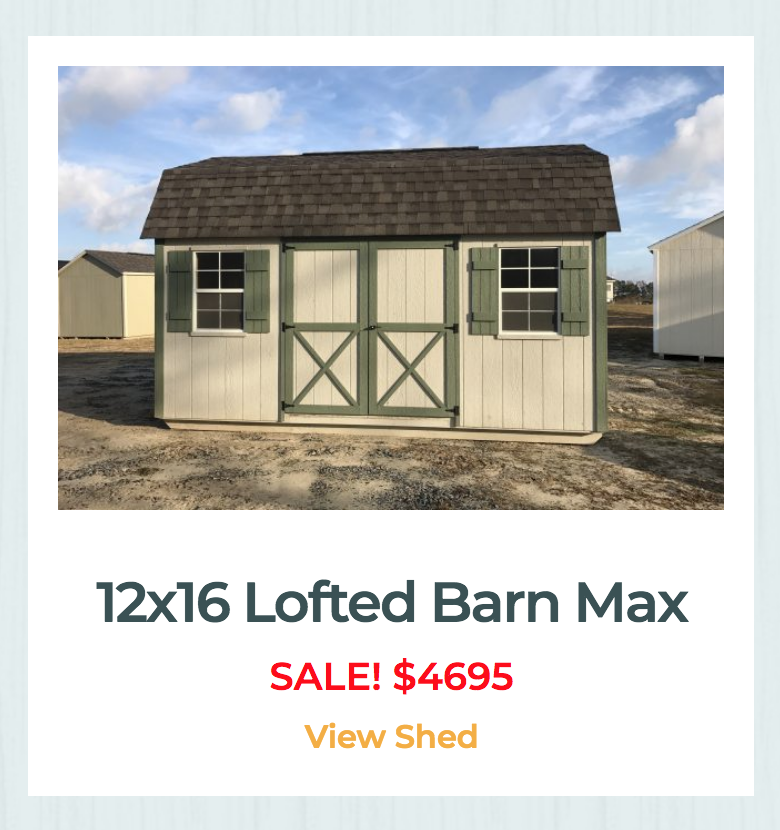 sheds for sale in ga deals