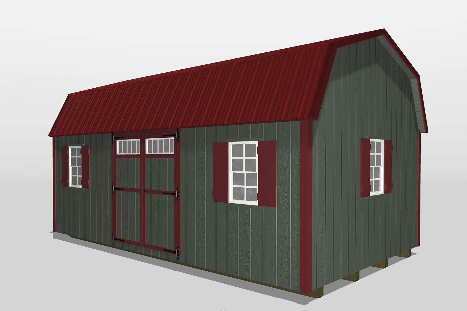 storage shed with loft statesboro ga