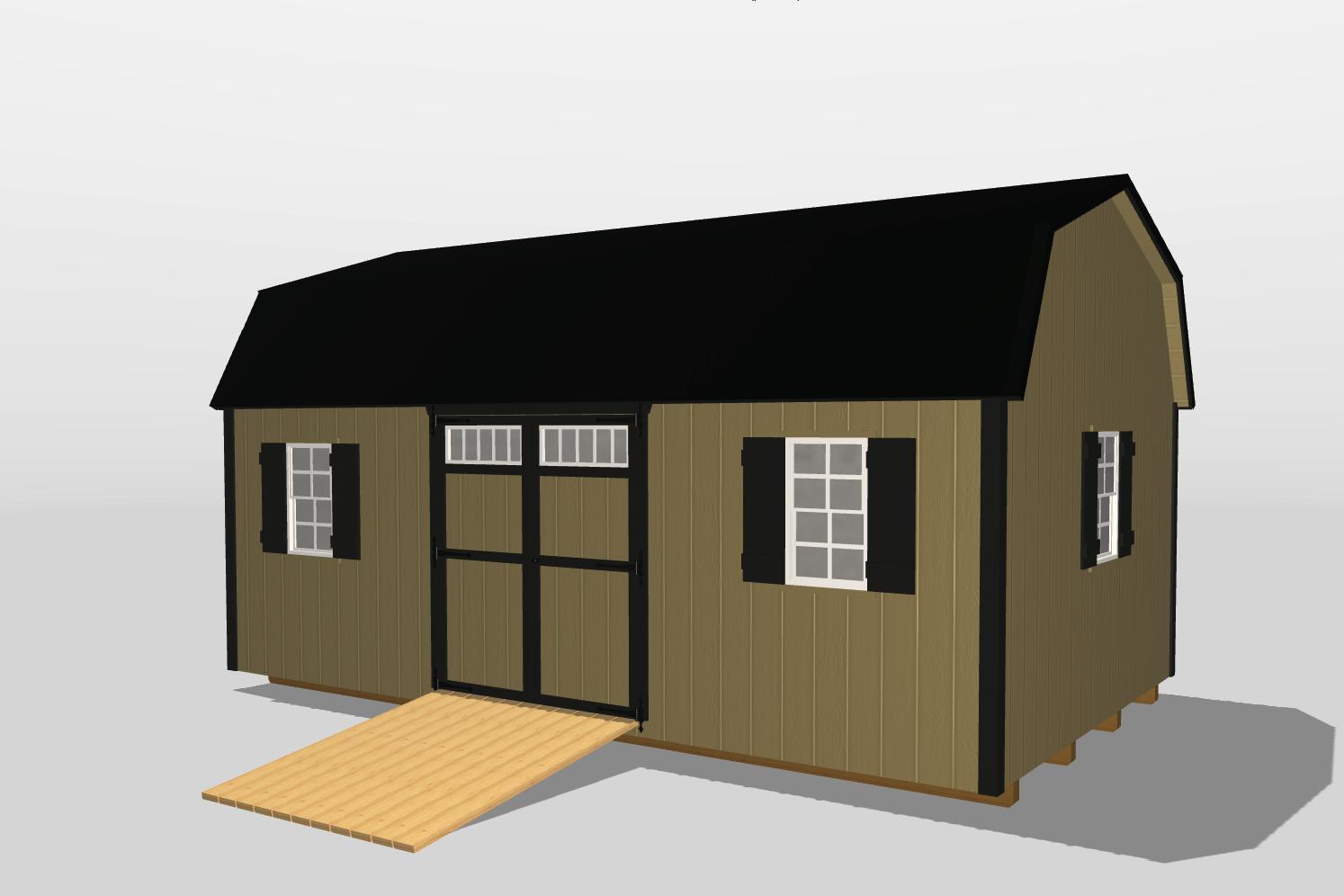 12x20 storage barn workshop vidalia ga
