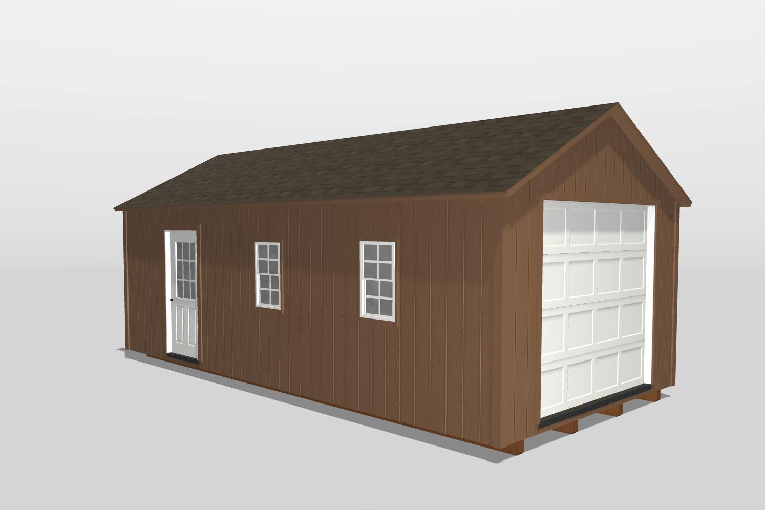 12x24 prefab garage shed vidalia ga