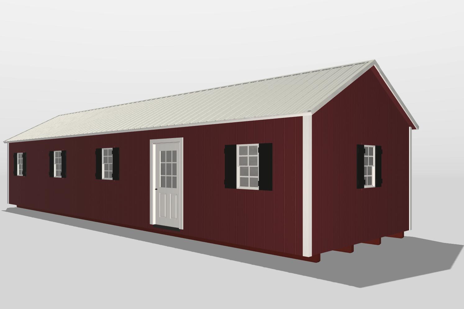 14x40 shed house vidalia ga