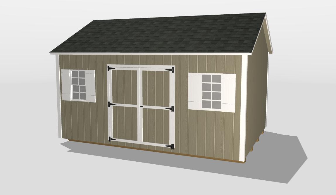 warner robins ga 3D shed builder