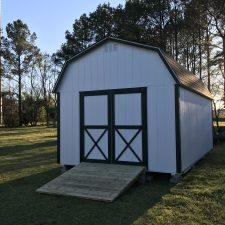 warner robins ga custom storage shed lofted barn max 003