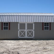 warner robins ga custom storage shed lofted barn max 004