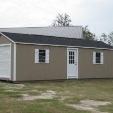 warner robins ga portable wood buildings garage 1