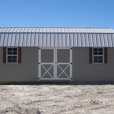 augusta ga custom storage shed lofted barn max 004