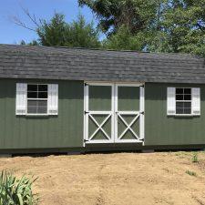augusta ga custom storage shed lofted barn max 007