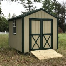 augusta ga portable wood building utility shed 007