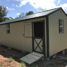 augusta ga portable wood building utility shed 009