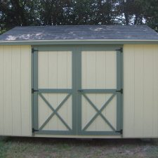 macon ga portable wood building utility shed 004