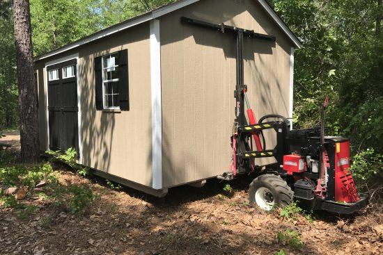 storage shed delivery Sylvania GA