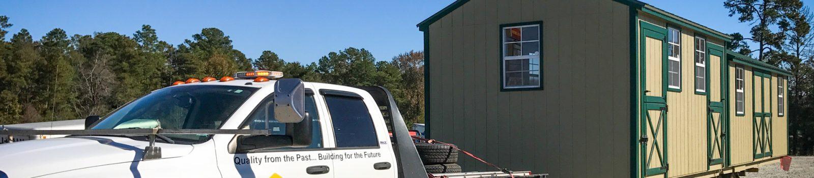 storage shed delivery near vidalia ga