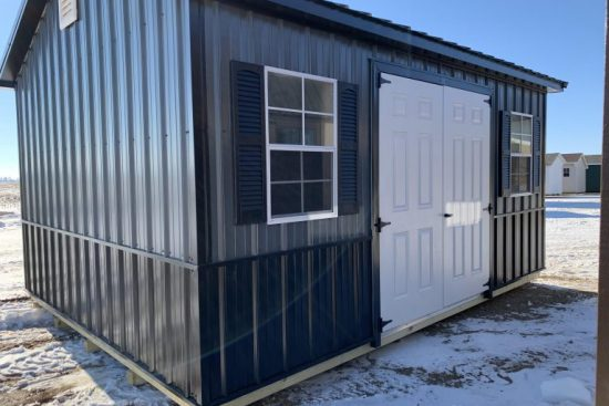 metal shed exterior wall material