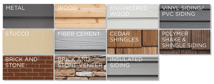 exterior shed wall material options