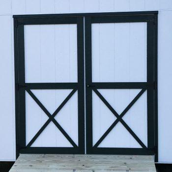 wooden garden sheds double doors hephzibah ga