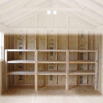 wooden garden sheds shelving package forsyth ga
