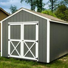 A custom utility storage shed in Georgia
