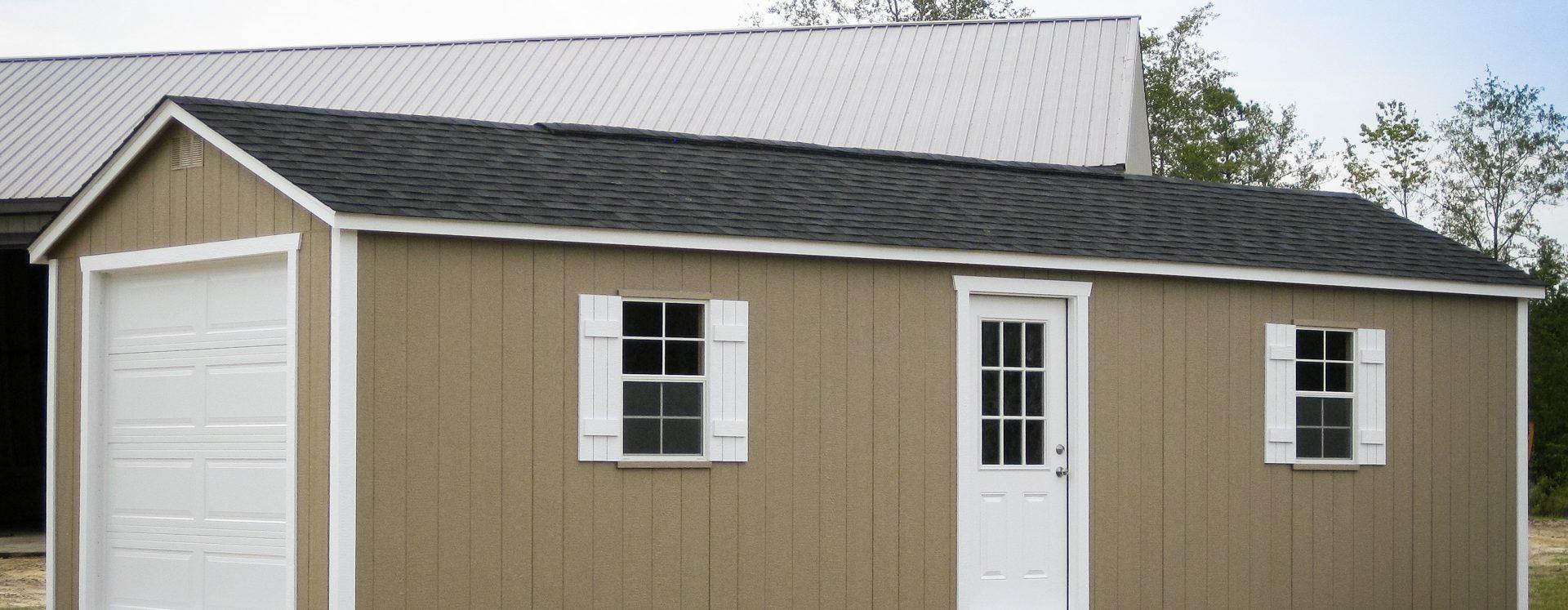 A prefab garage in Georgia
