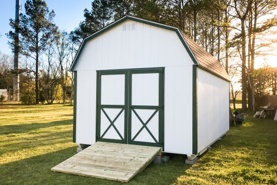 a portable storage building in georgia