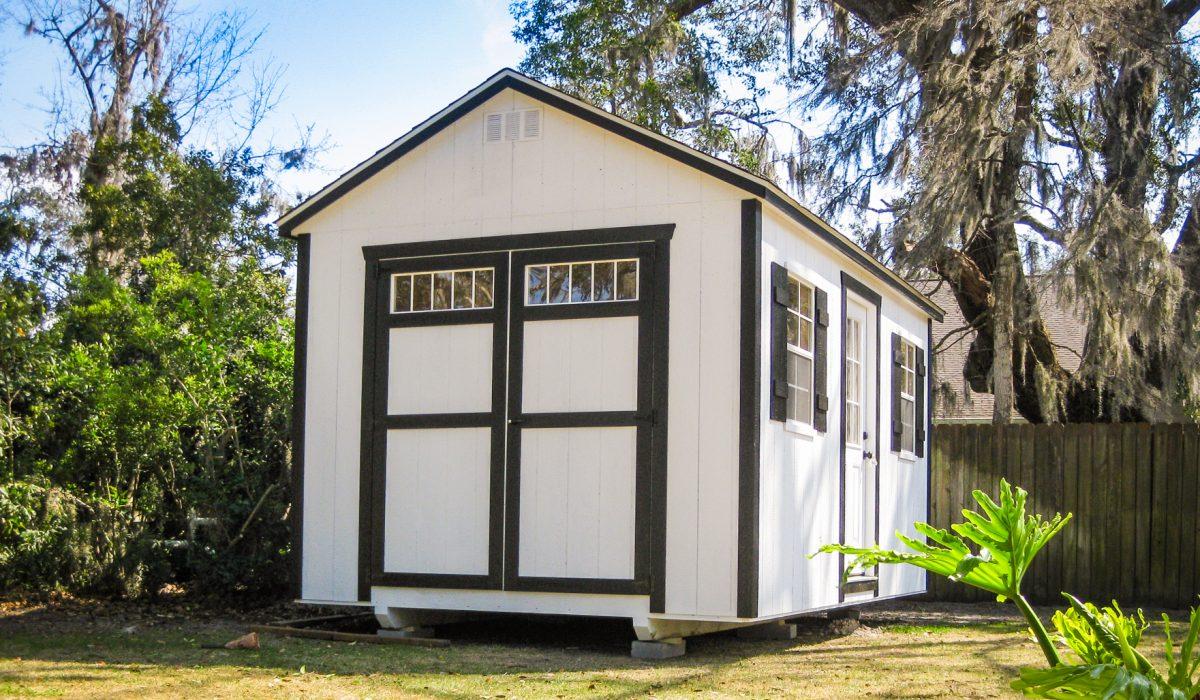 a backyard shed in georgia