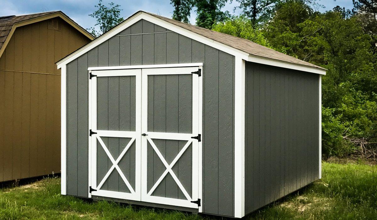 a backyard utility shed in georgia