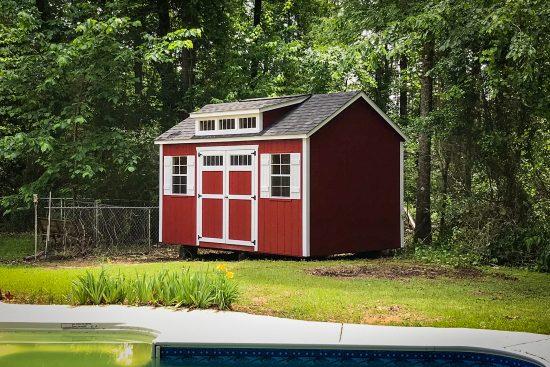 custom backyard shed in georgia
