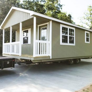 custom sheds with end porch