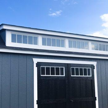 custom sheds with small dormer