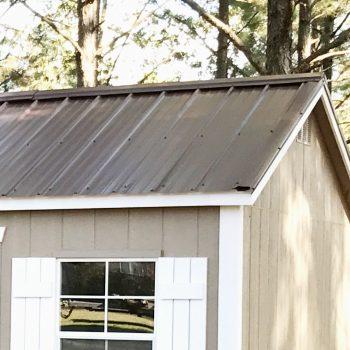 georgia garage shed metal roof colors vidalia ga