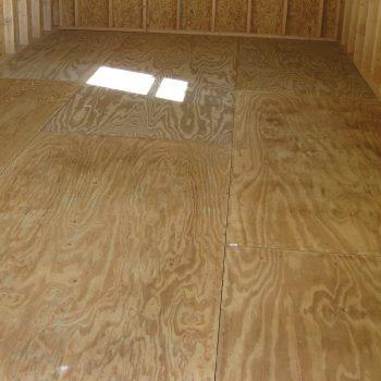 prefab garage shed pressure treated plywood floor eastman ga