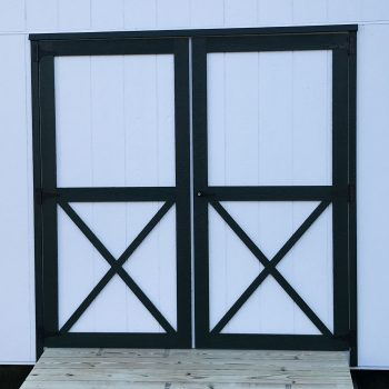 storage barn double doors statesboro ga