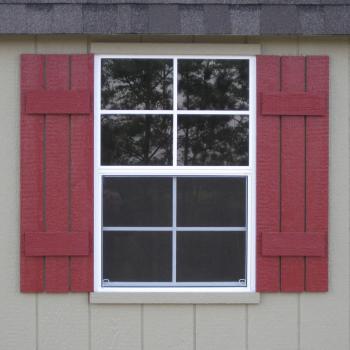 yard barns with windows