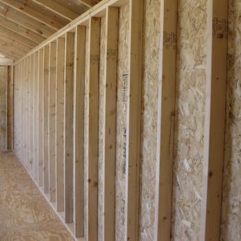 wall studs for yard barns