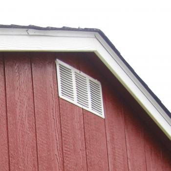 yard barns gable vent
