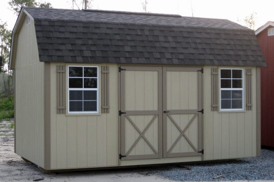 custom storage shed lofted barn max in swainsboro ga