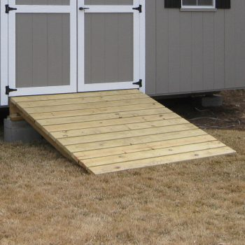 wooden garden shed ramp in baxley ga
